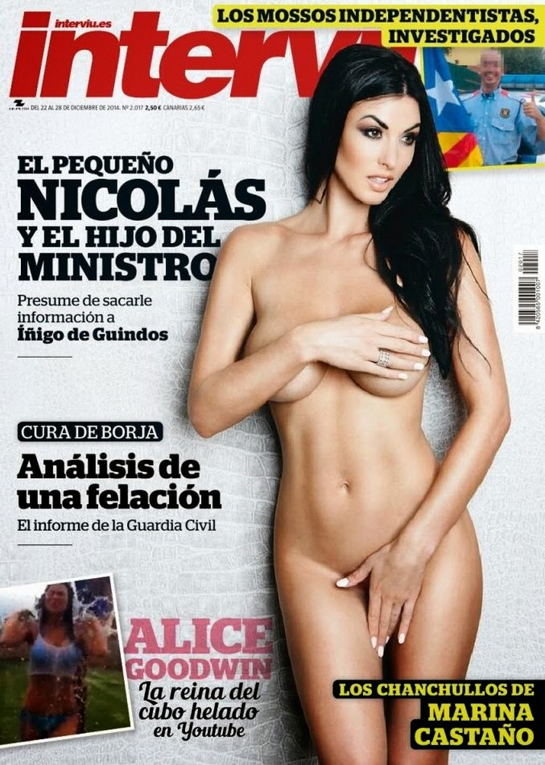 Alice Goodwin Naked in Interviu! 2