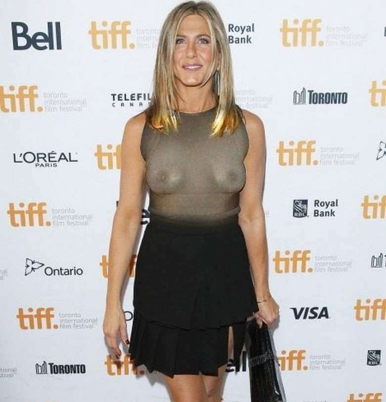 Jennifer Aniston Naked (X-Ray See Through Clothes) 9