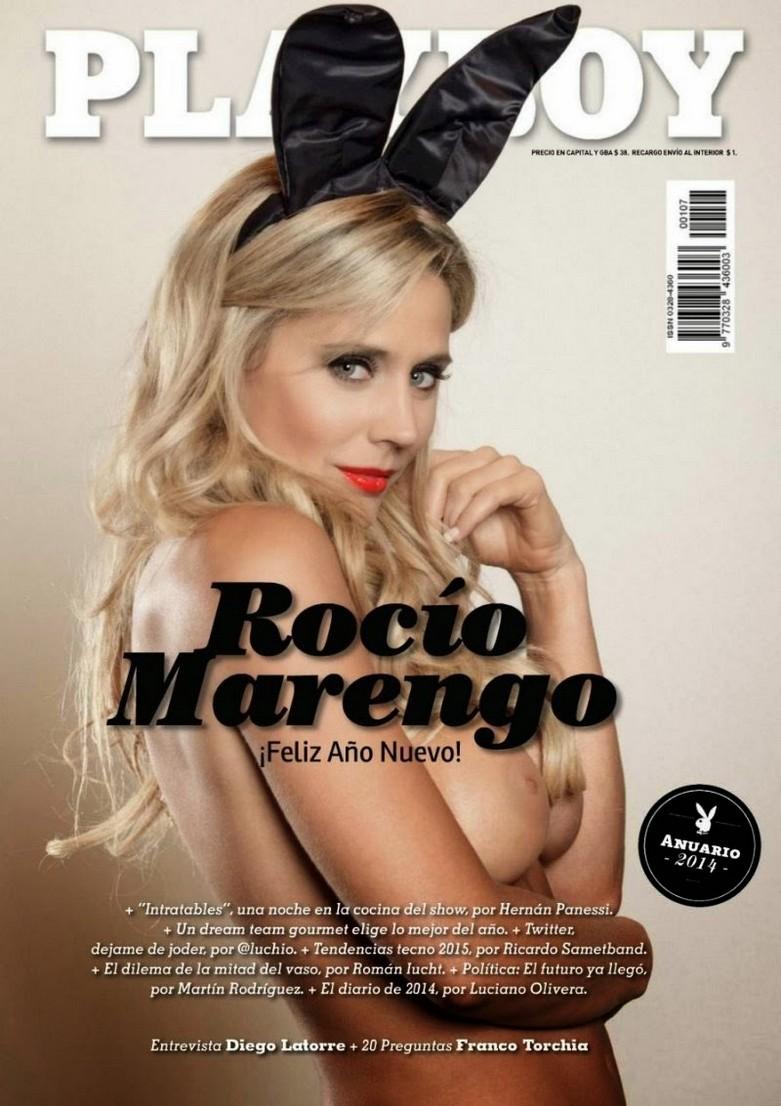 Rocio Marengo - Latin Actress Naked in Playboy Argentina 1