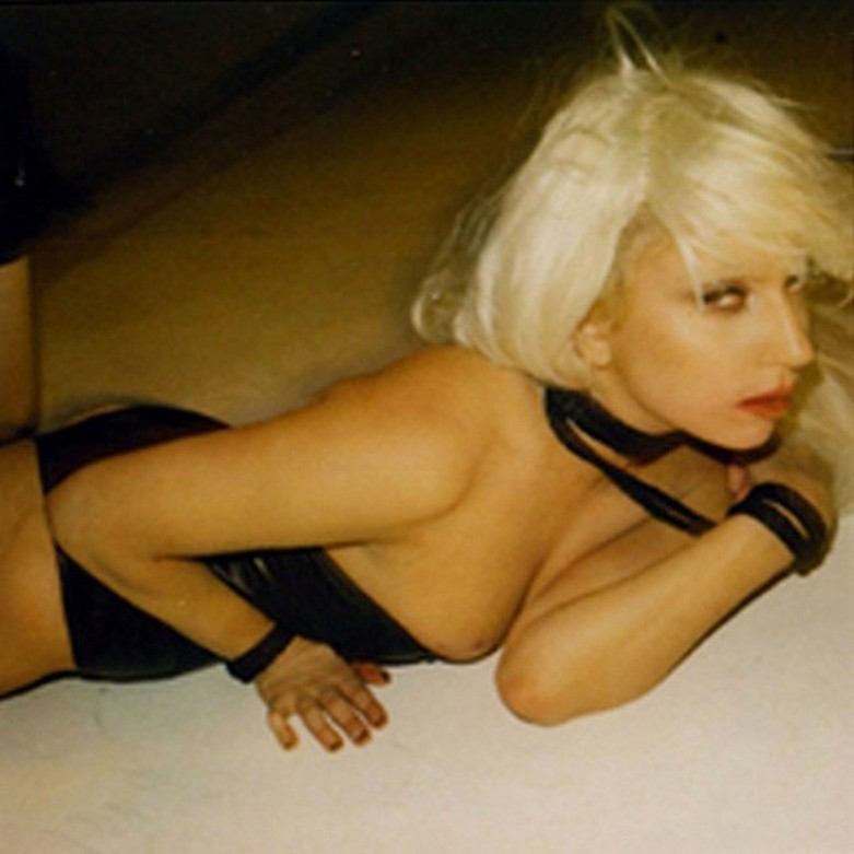 BDSM style nude photos of Lady Gaga. 12