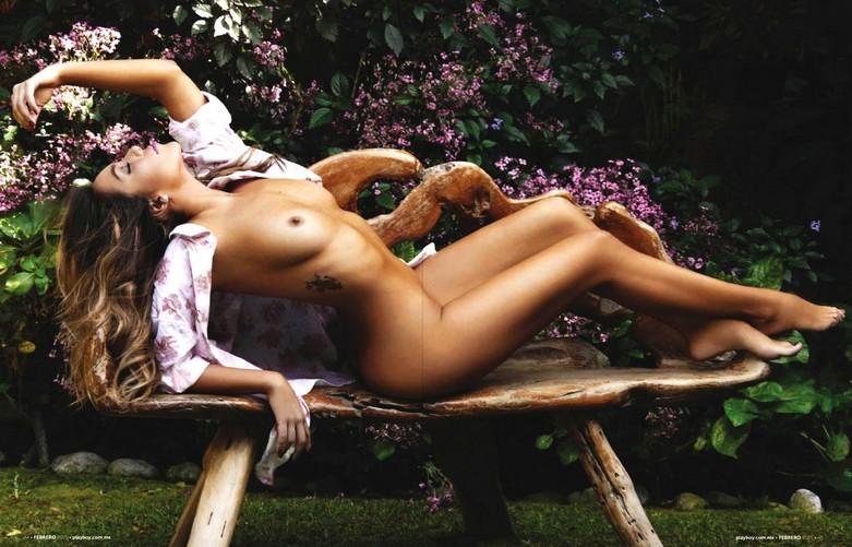 Frida Sofia - Naked Photos in Playboy Mexico! 10