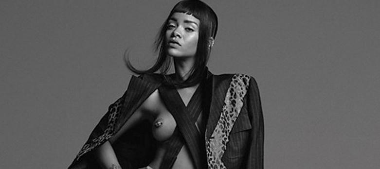 Rihanna Topless 6