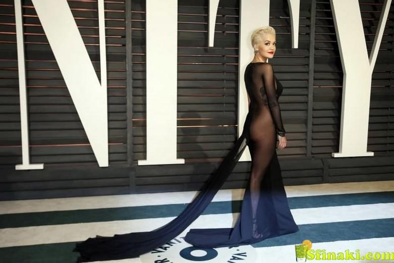 Rita Ora Naked Ass 2