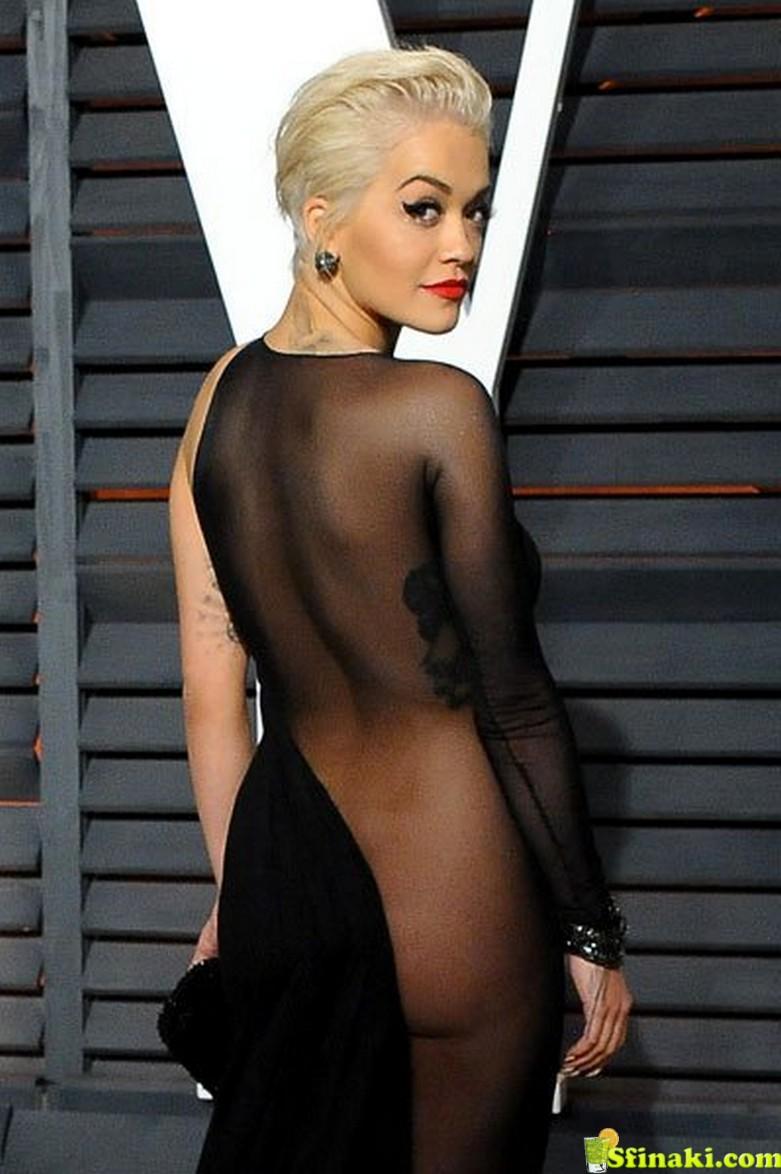 Rita Ora Naked Ass 3