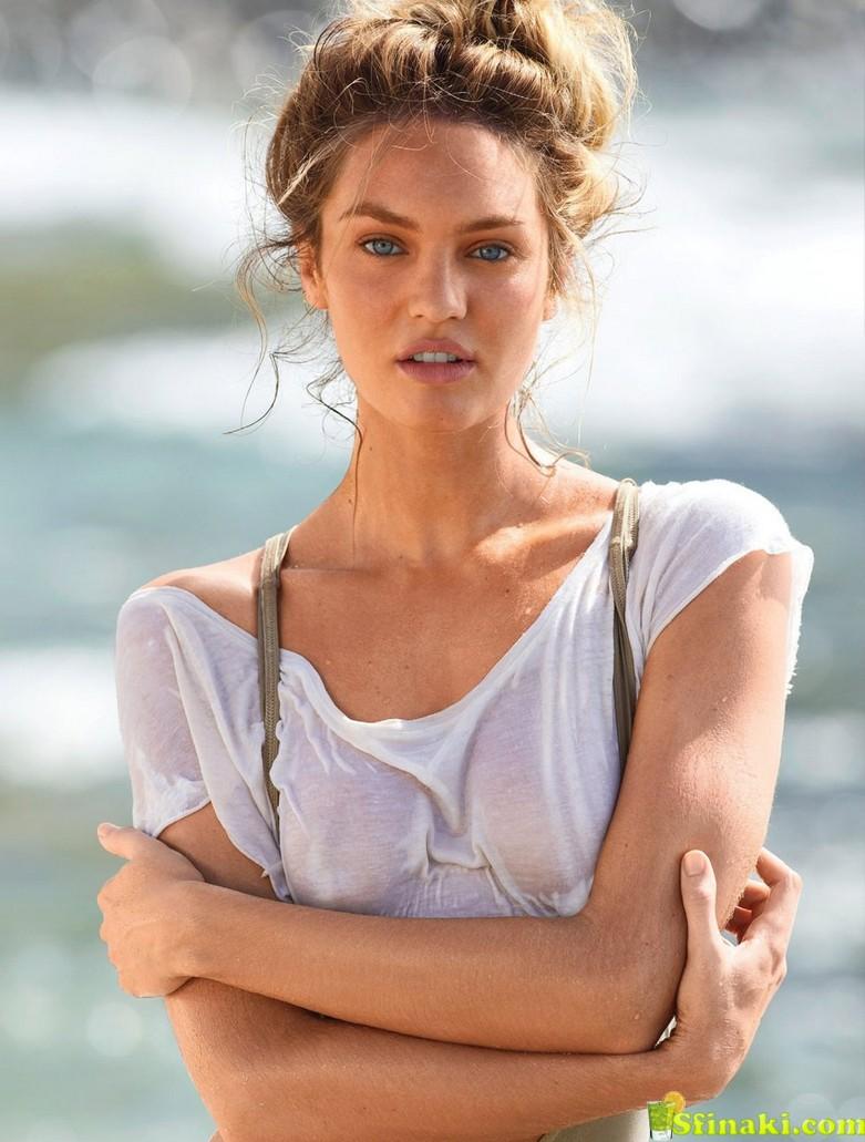 Candice Swanepoel Naked for Maxim Magazine 5