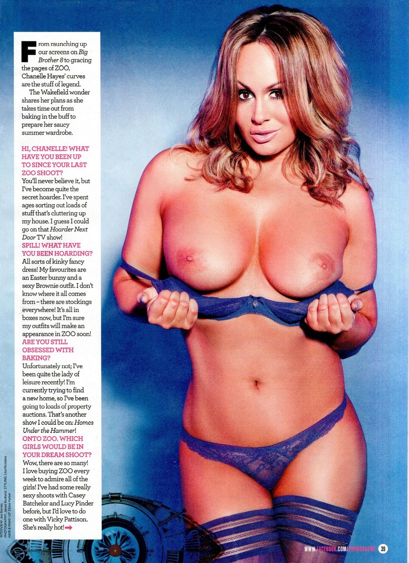 Chanelle Hayes Topless 1