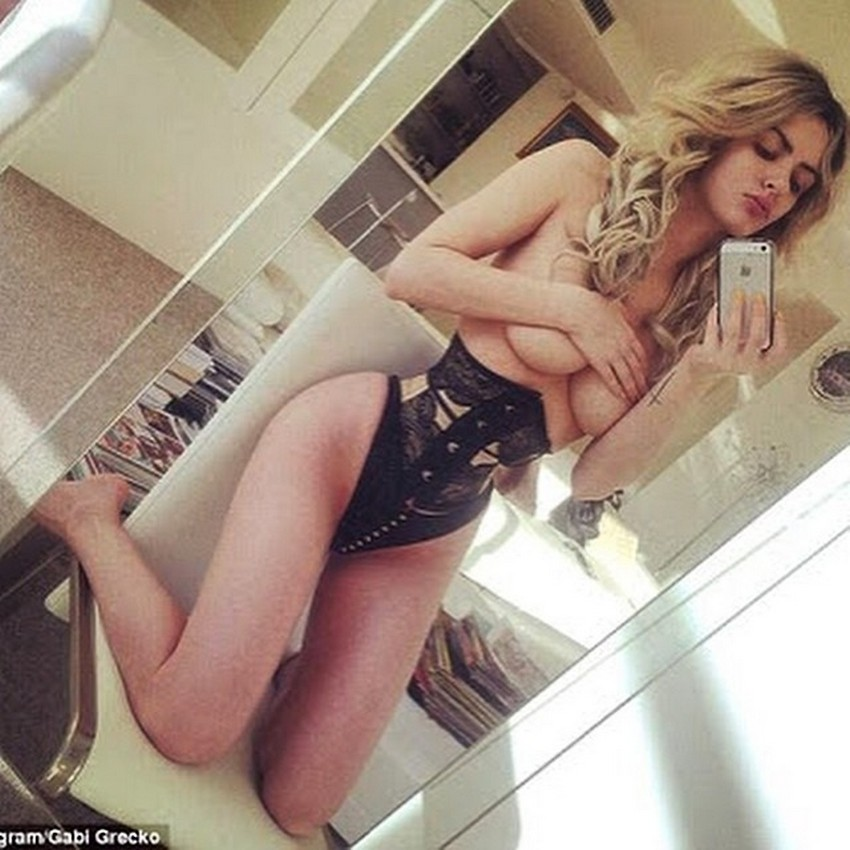 Gabi Grecko Topless 3