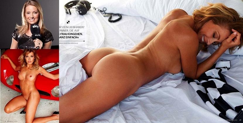 Sarah Valentina Winkhaus - Formula One Sports Expert Naked in Playboy (30 pics) 1