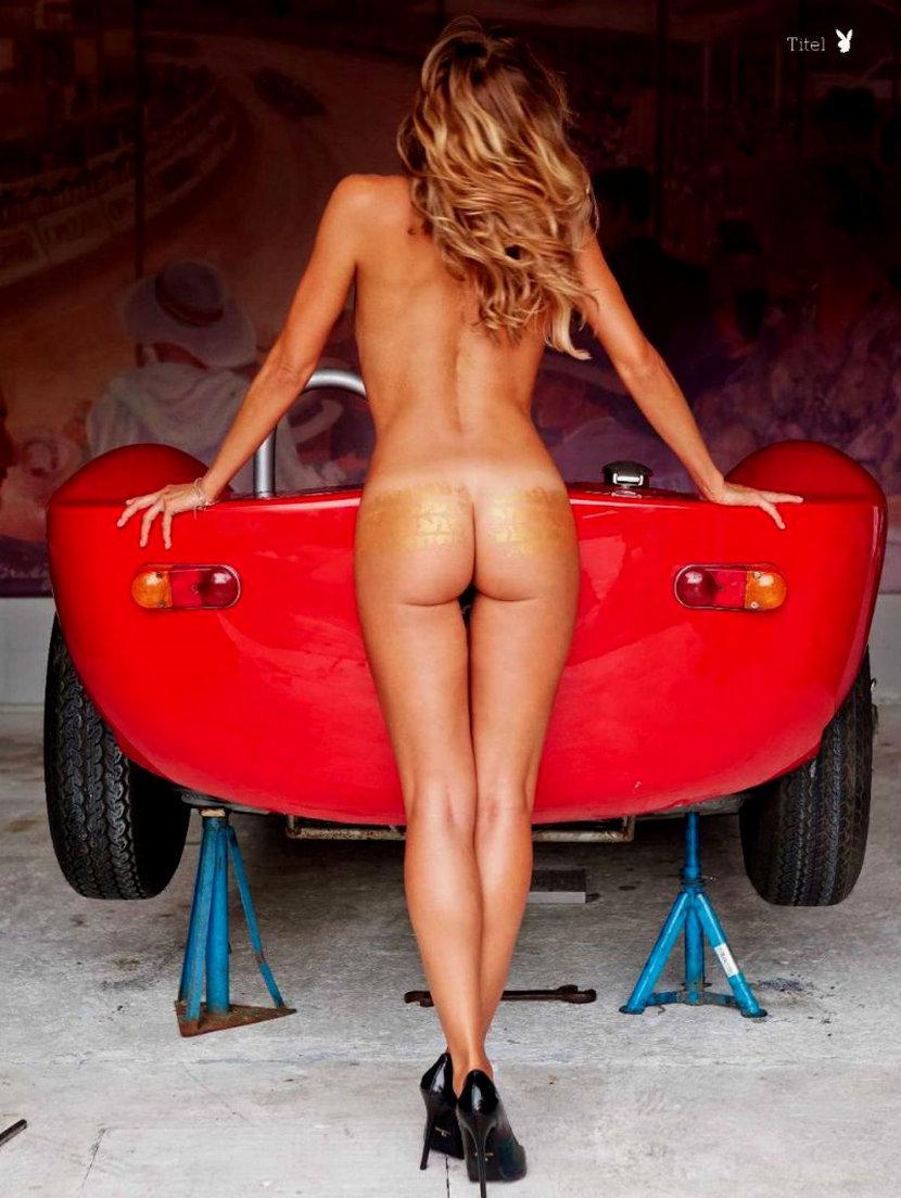 Sarah Valentina Winkhaus - Formula One Sports Expert Naked in Playboy (30 pics) 5