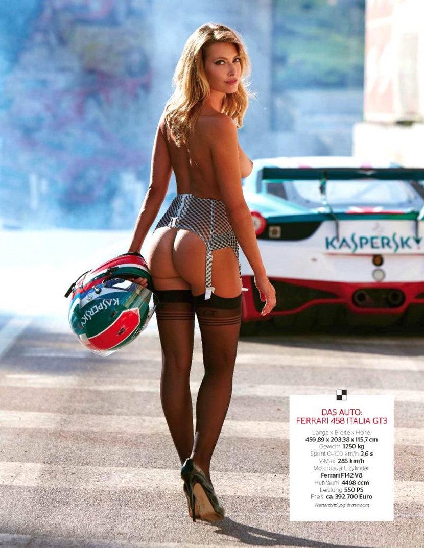 Sarah Valentina Winkhaus - Formula One Sports Expert Naked in Playboy (30 pics) 12