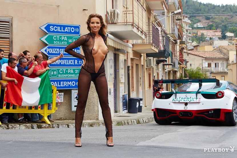Sarah Valentina Winkhaus - Formula One Sports Expert Naked in Playboy (30 pics) 37