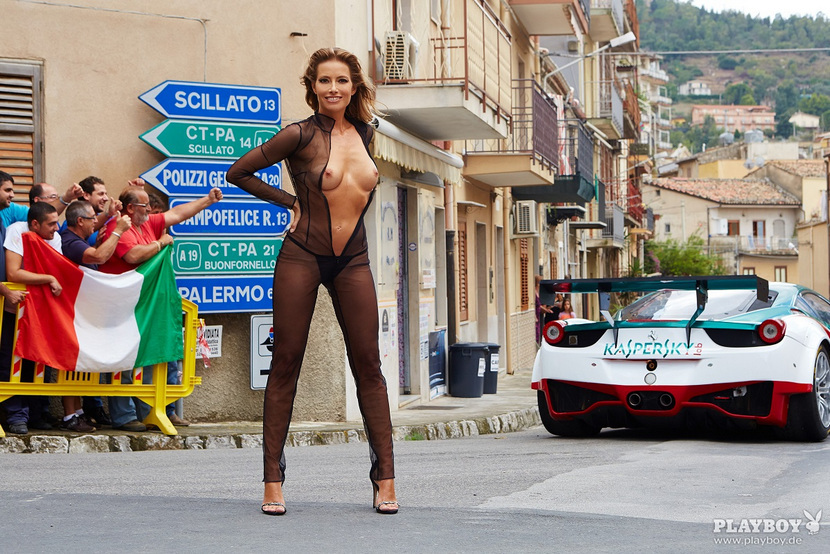 Sarah Valentina Winkhaus - Formula One Sports Expert Naked in Playboy (30 pics) 38