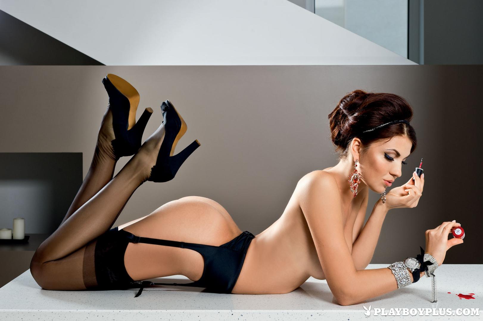 Η Daria Petukhova στο Ρώσικο Playboy 2