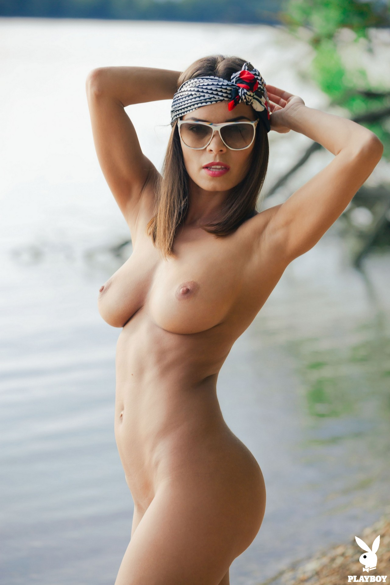 Natalie Costello in Soothing Lake - Playboy Plus 9