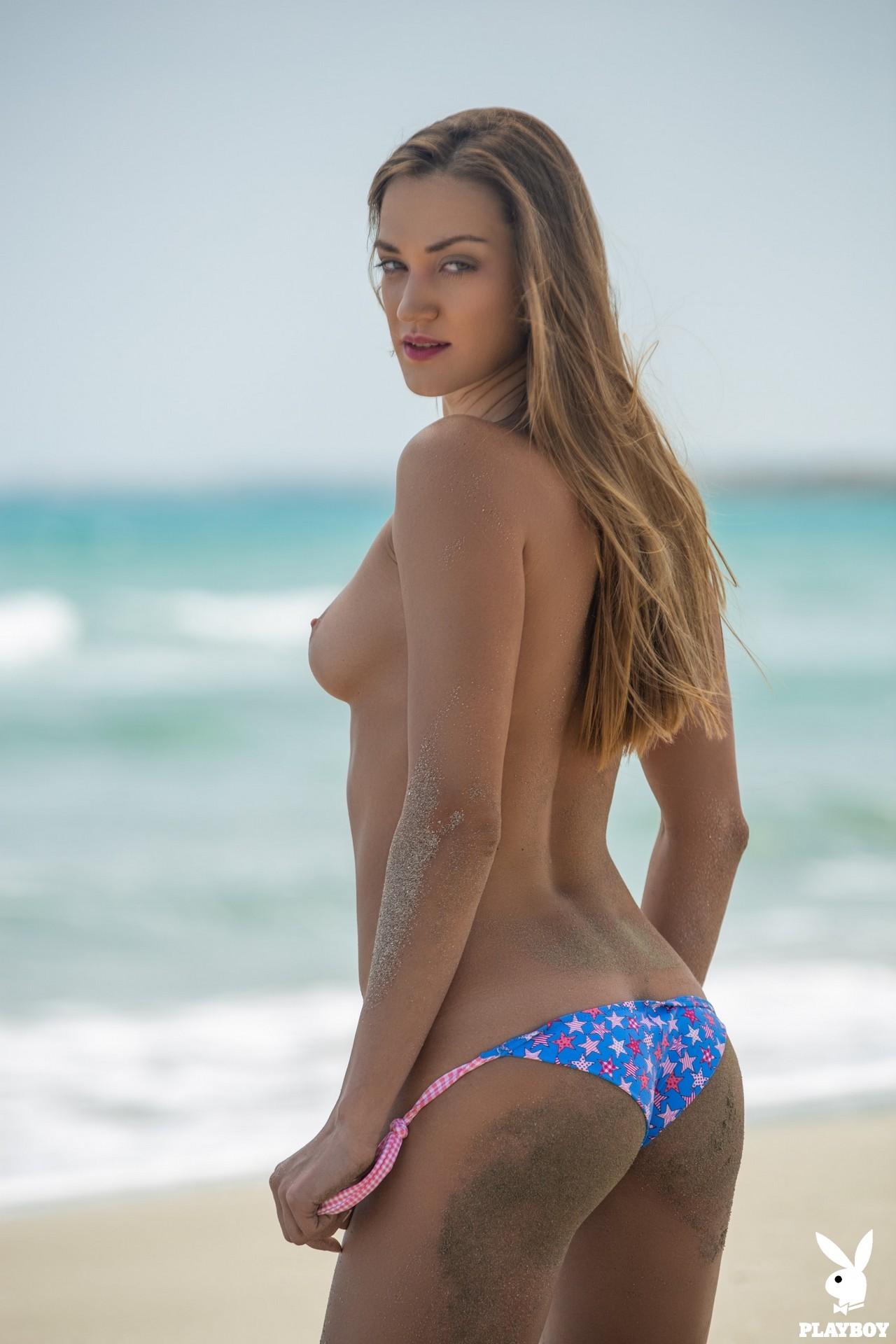 Nicole Fox in Sandy Shores - Playboy Plus 2