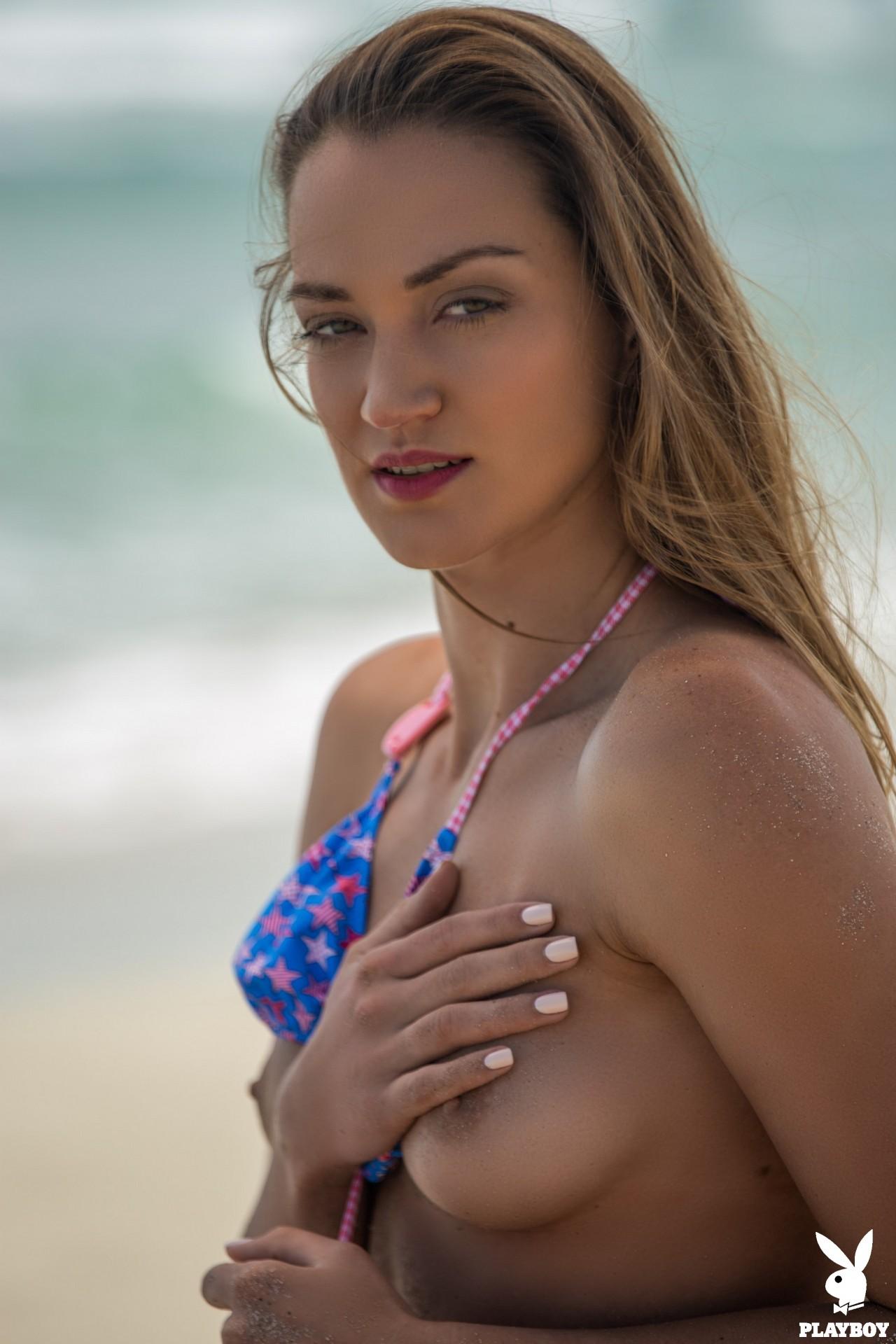 Nicole Fox in Sandy Shores - Playboy Plus 13
