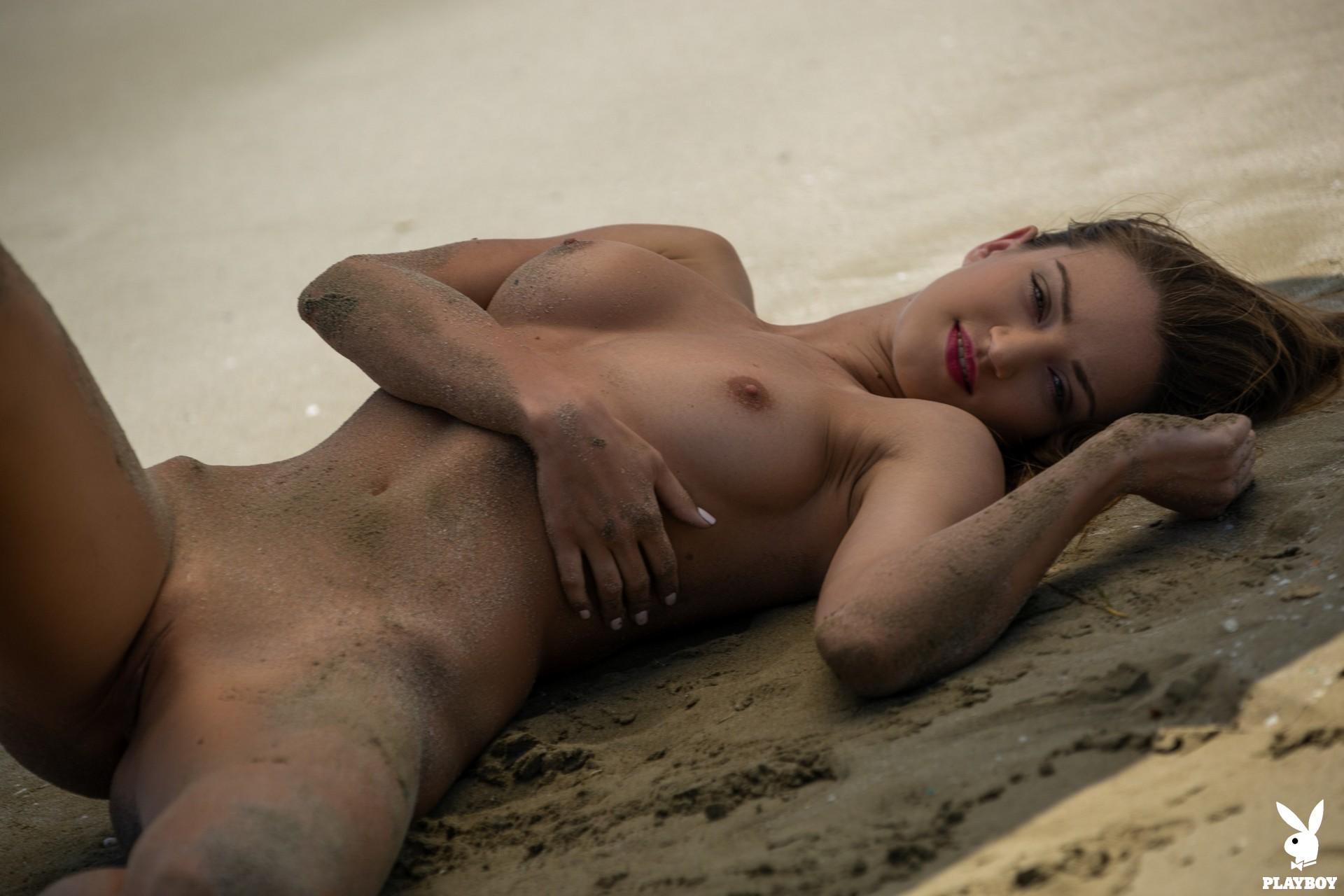 Nicole Fox in Sandy Shores - Playboy Plus 35