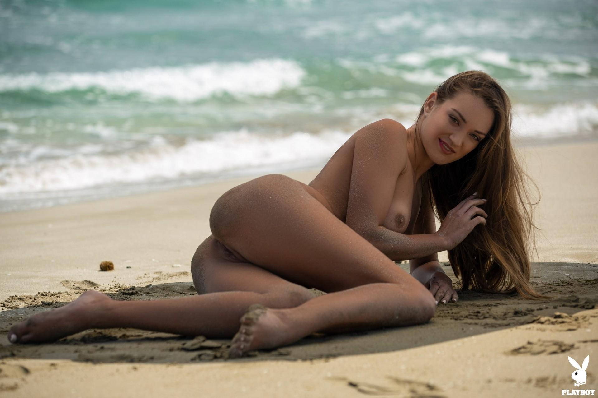 Nicole Fox in Sandy Shores - Playboy Plus 5