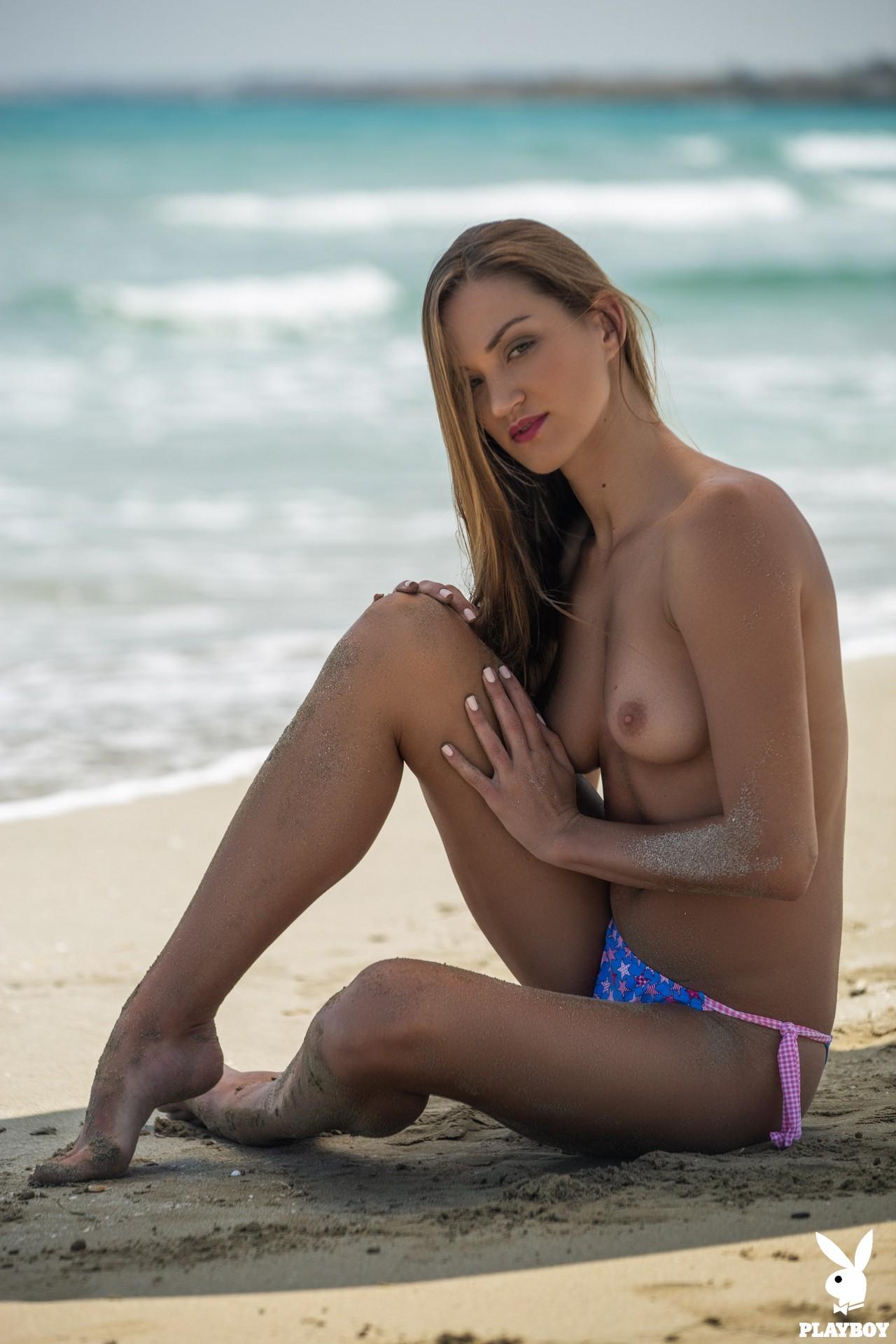 Nicole Fox in Sandy Shores - Playboy Plus 6