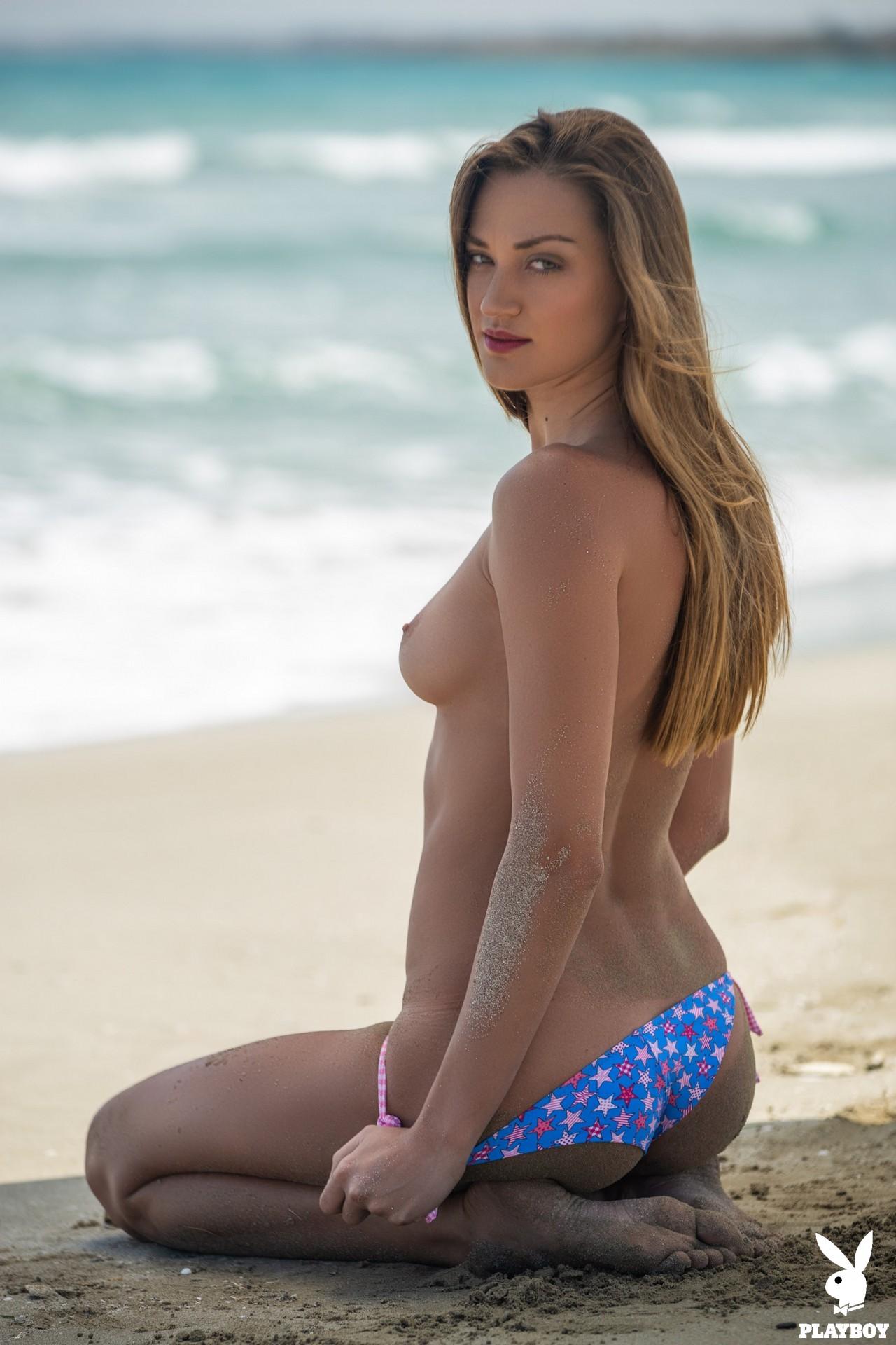 Nicole Fox in Sandy Shores - Playboy Plus 8