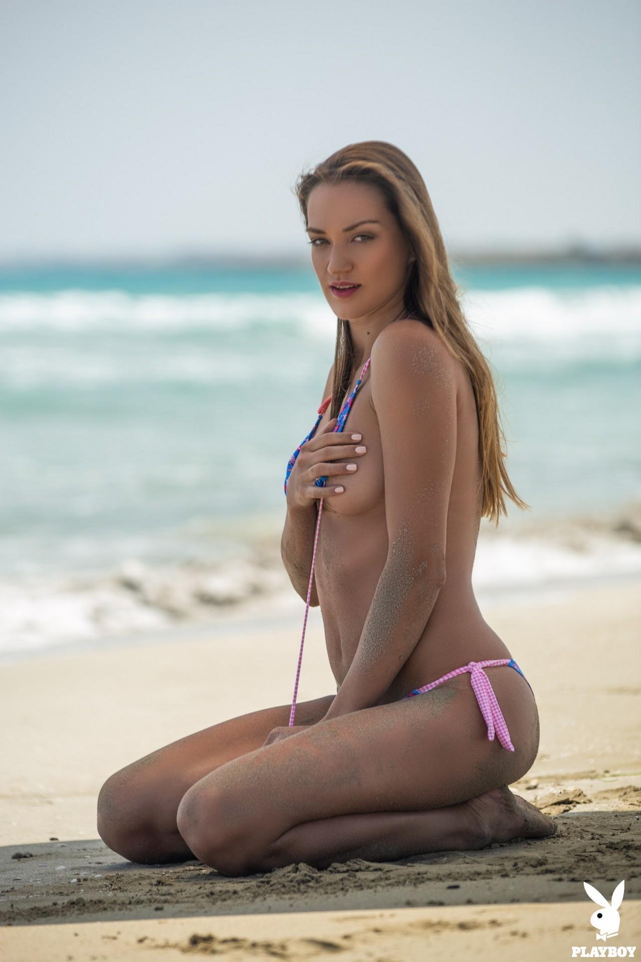Nicole Fox in Sandy Shores - Playboy Plus 9