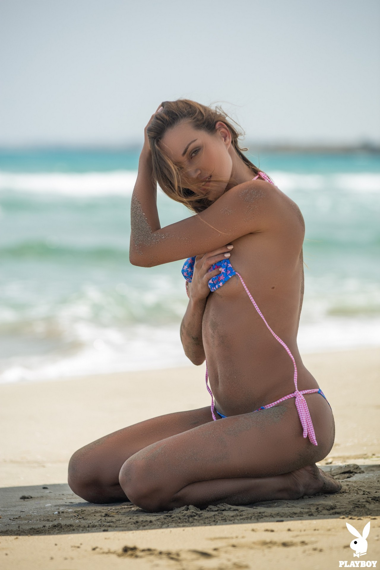 Nicole Fox in Sandy Shores - Playboy Plus 1
