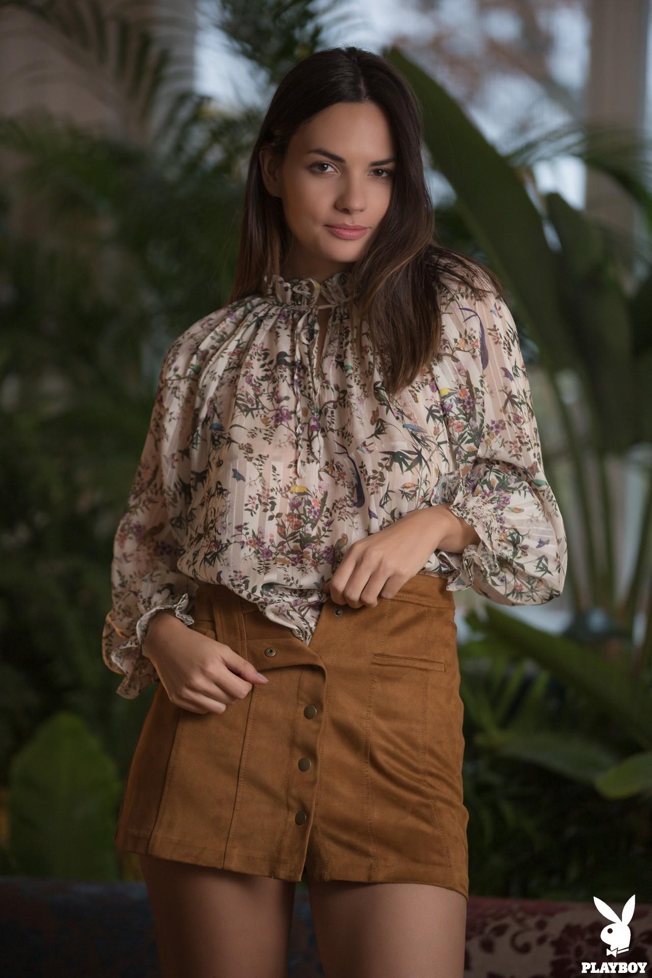 Flora Garai In Sweet Charmer Playboy Plus (1)