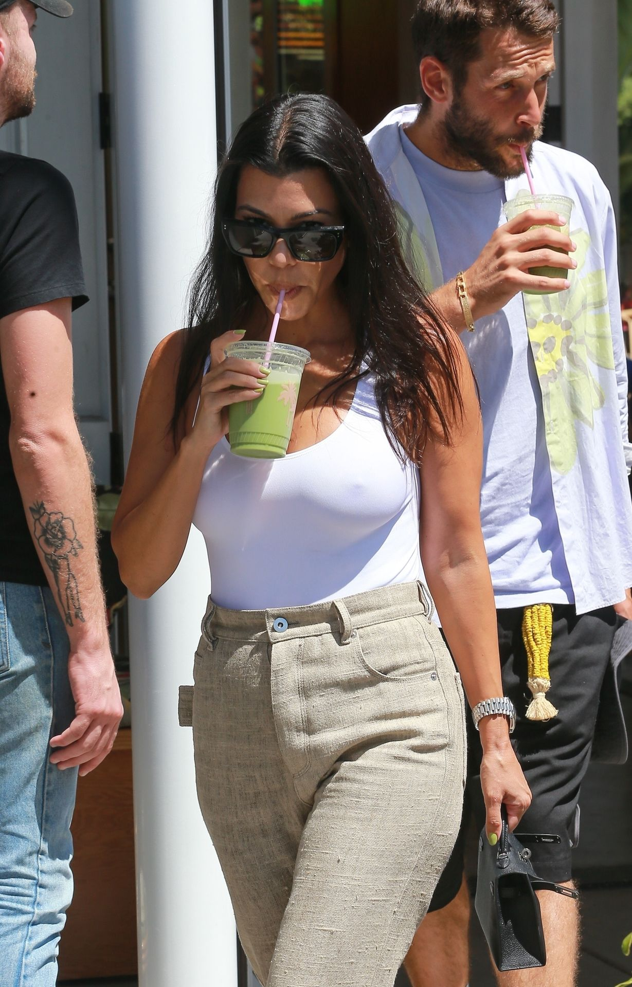 Kourtney Kardashian Braless 107