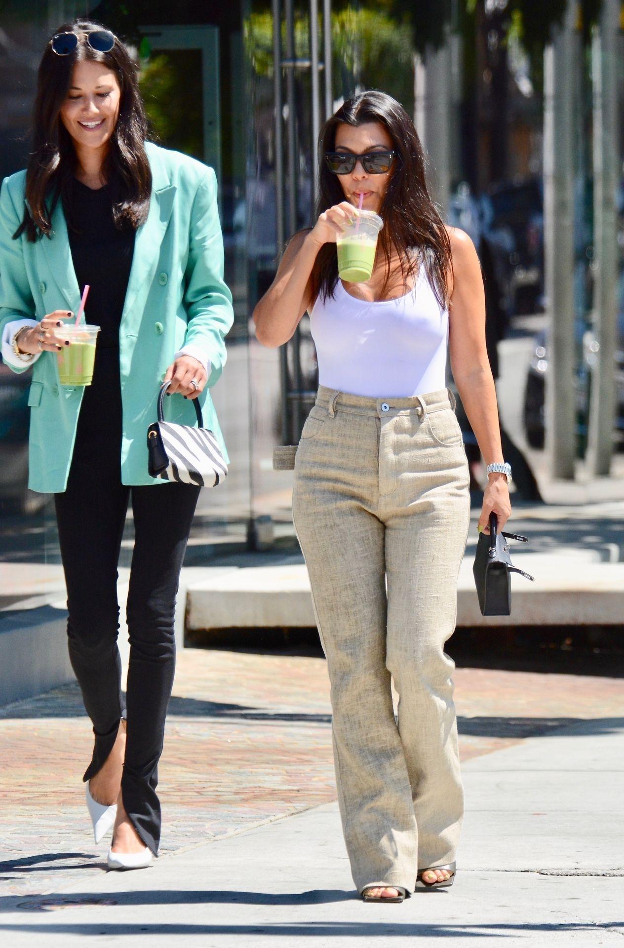Kourtney Kardashian Braless 146