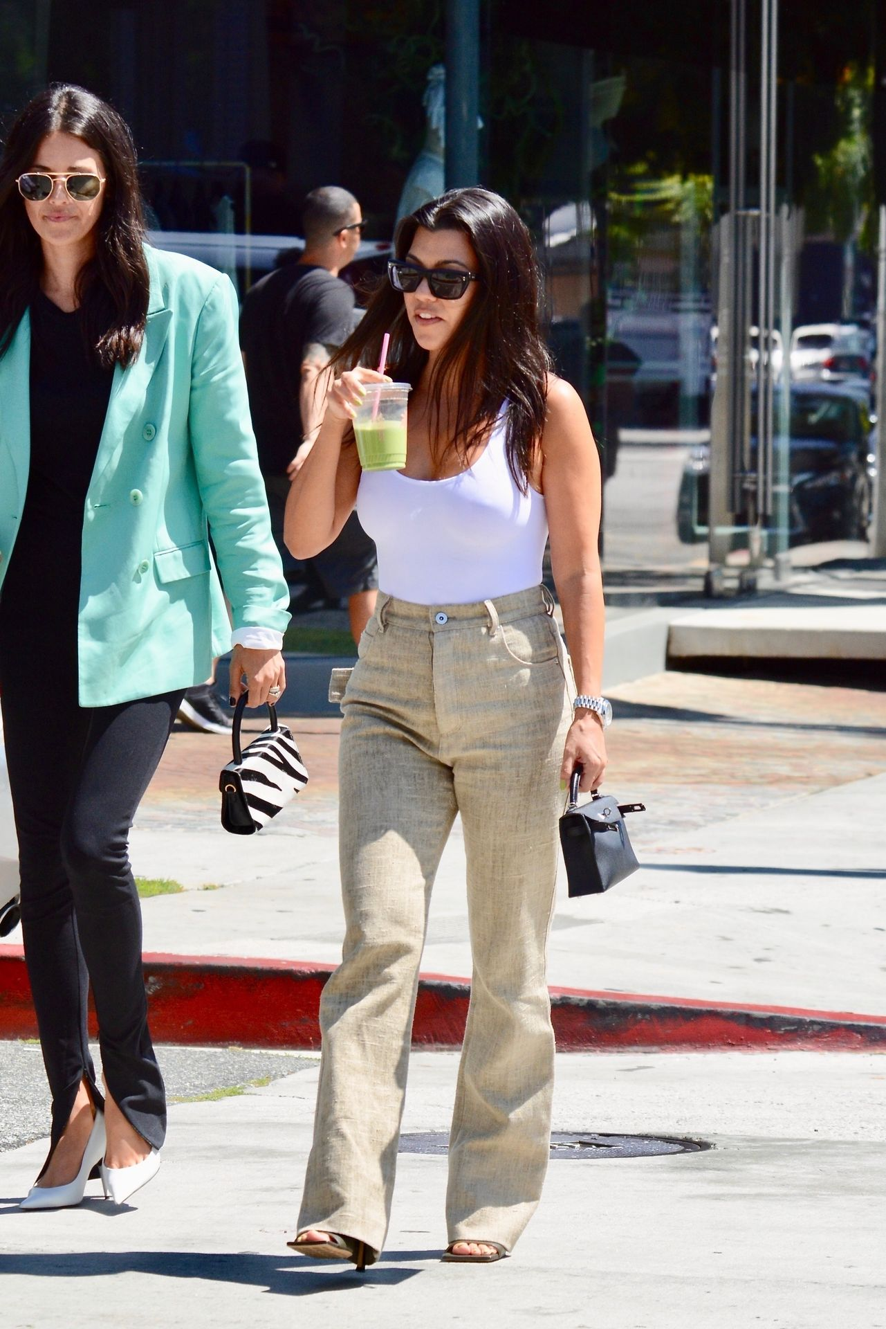 Kourtney Kardashian Braless 149