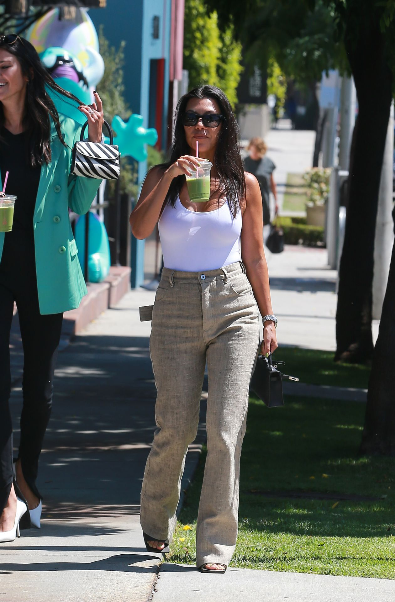 Kourtney Kardashian Braless 183