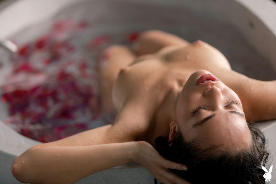 Kit Rysha in Calming Rose - Playboy Plus (33)