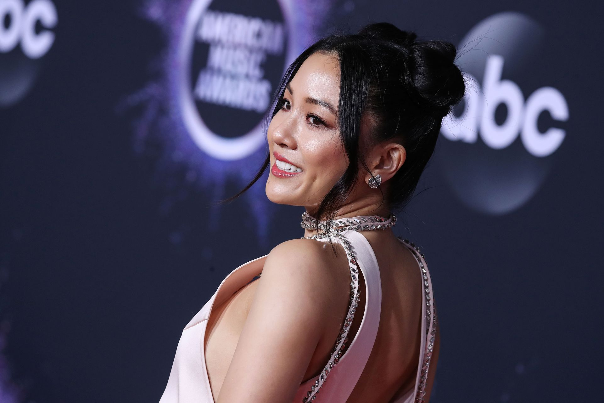 Constance Wu Braless 0043