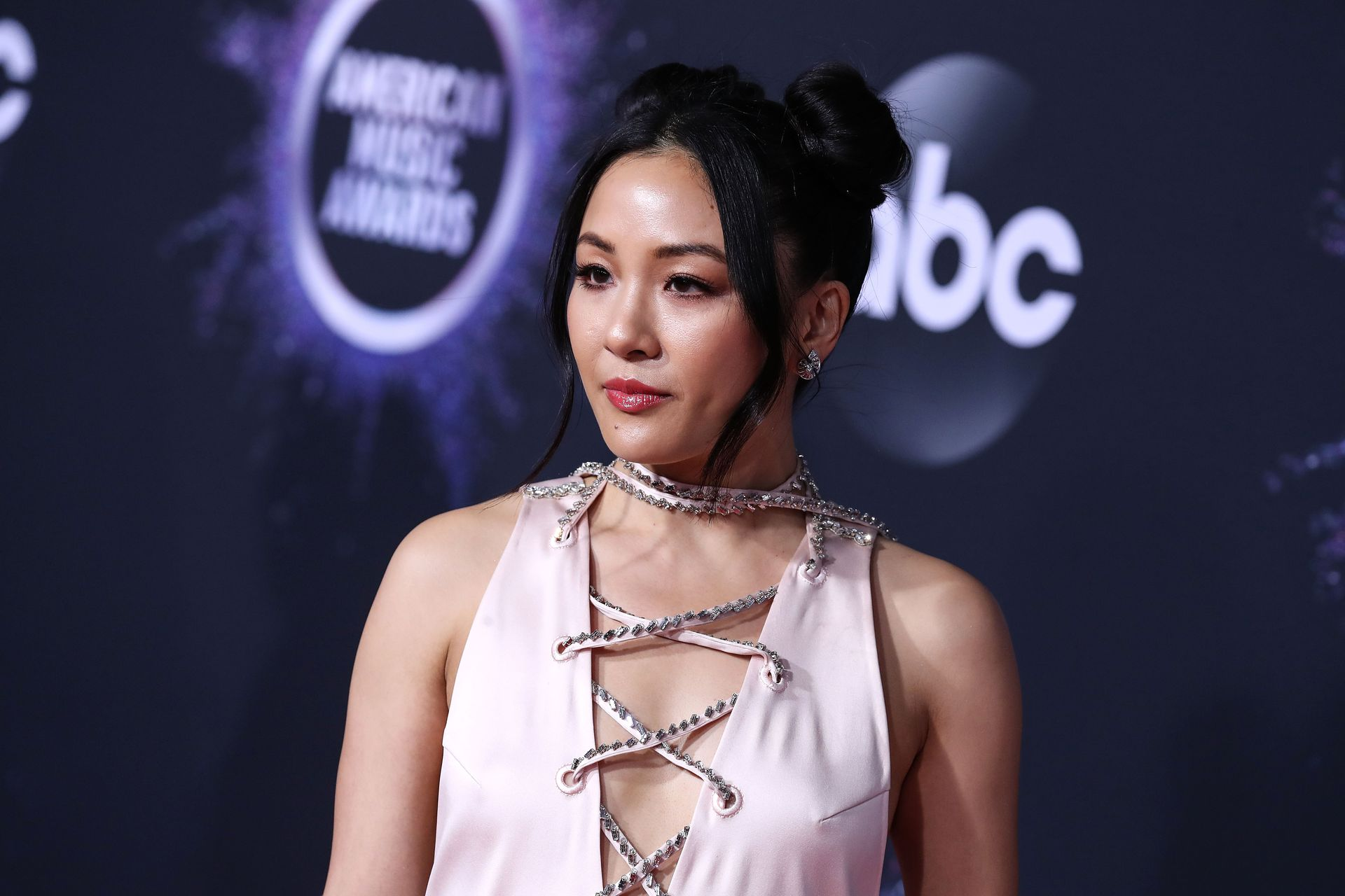 Constance Wu Braless 0045