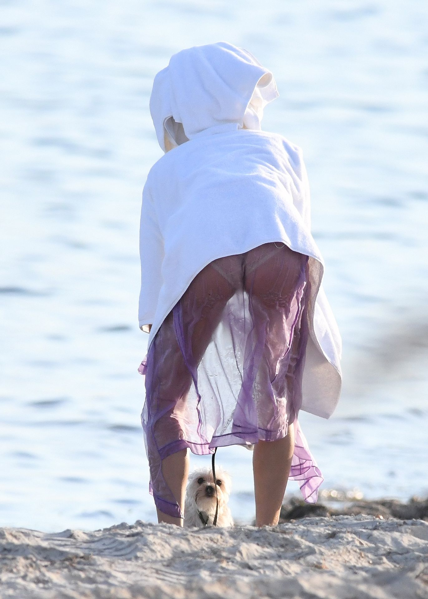 Hailey Bieber's Butt 0017