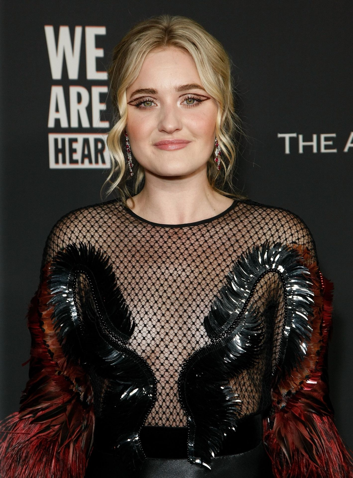 Aj Michalka Shows Her Tits At The Art Of Elysium's Event 0007