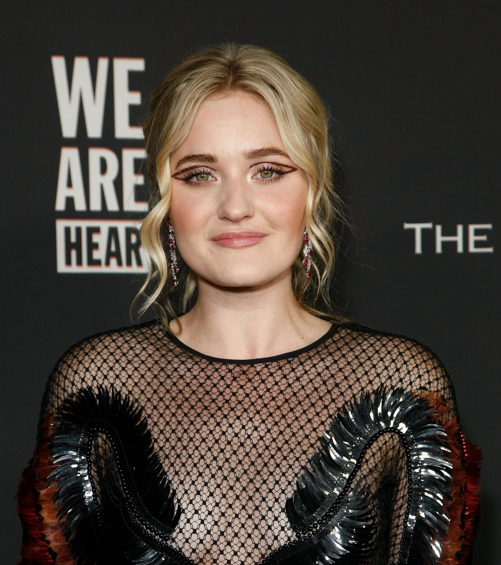 Aj Michalka Shows Her Tits At The Art Of Elysium's Event 0009