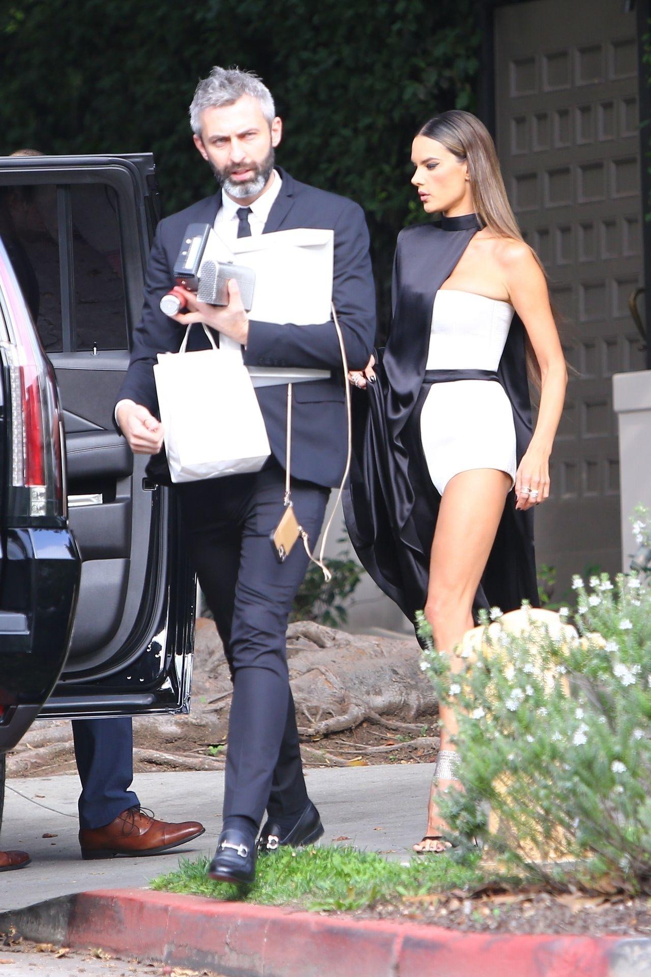 Alessandra Ambrosio Looks Stunning Ahead Of The Grammys 0014