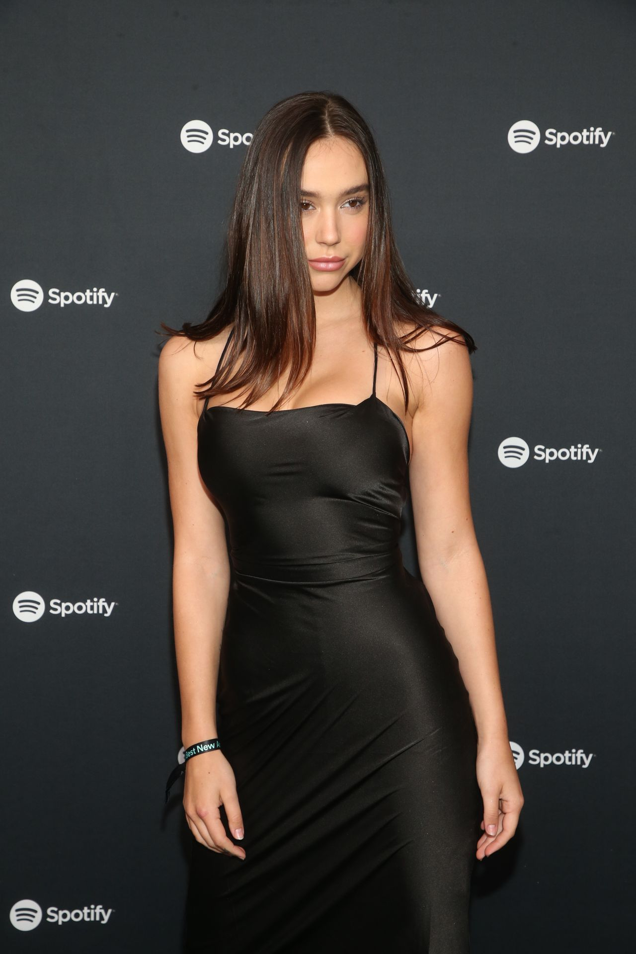 Alexis Ren Shows Off Her Tits At The Spotify Best New Artist Party 0008