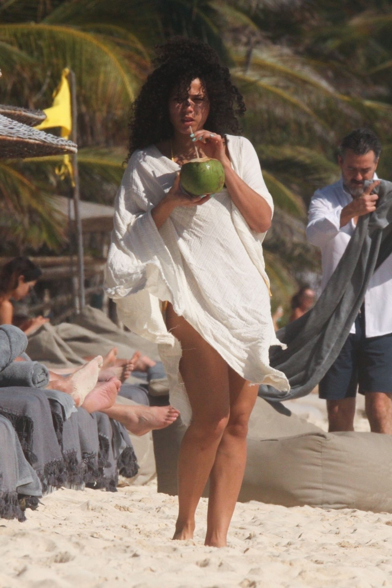 Alisha Wainwright Enjoys A Sun Filled Getaway In Tulum 0003