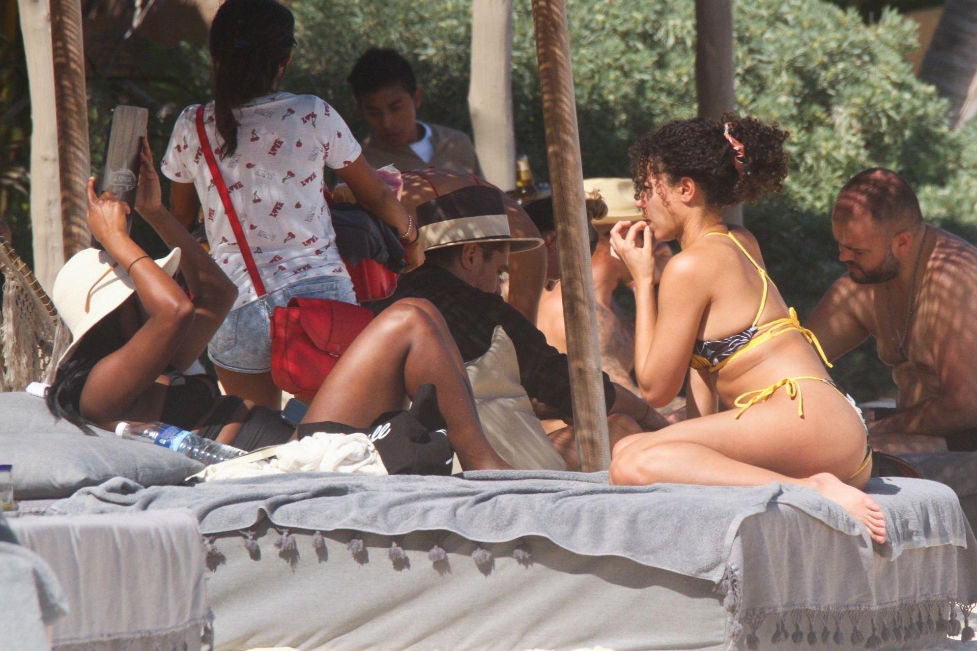 Alisha Wainwright Enjoys A Sun Filled Getaway In Tulum 0043