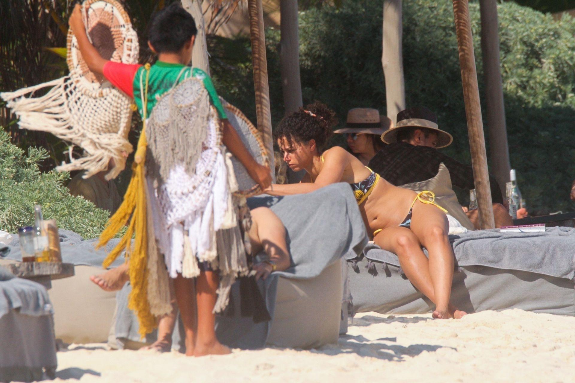 Alisha Wainwright Enjoys A Sun Filled Getaway In Tulum 0053