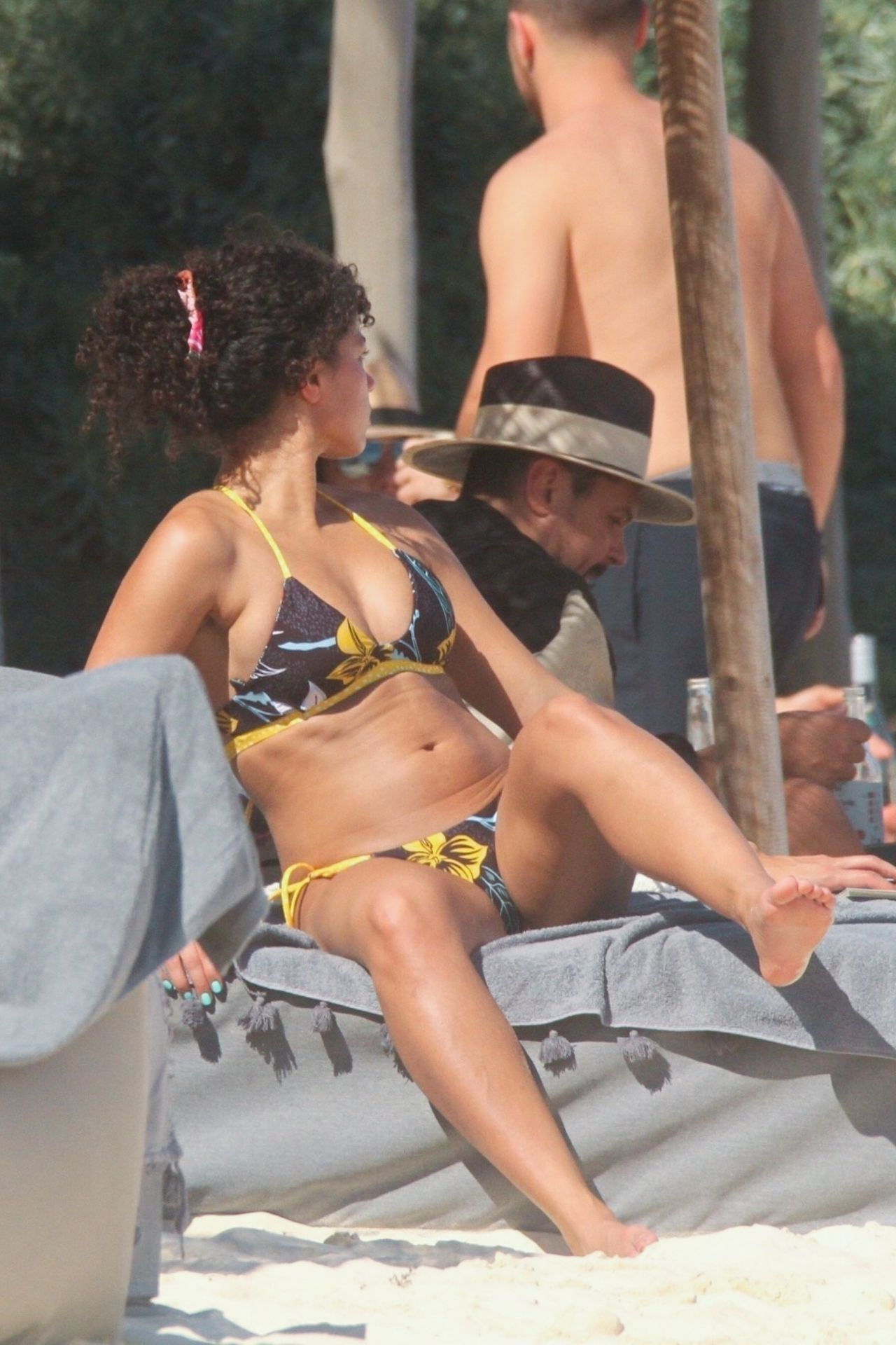 Alisha Wainwright Enjoys A Sun Filled Getaway In Tulum 0058
