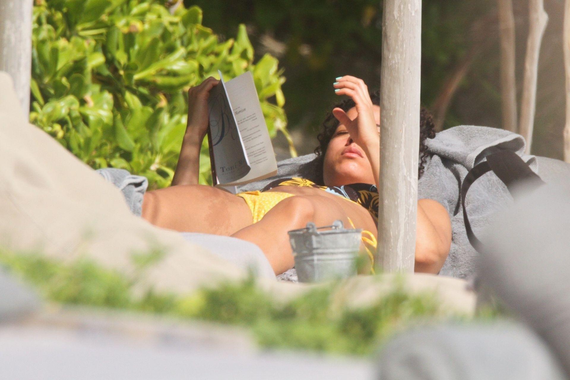 Alisha Wainwright Enjoys A Sun Filled Getaway In Tulum 0087