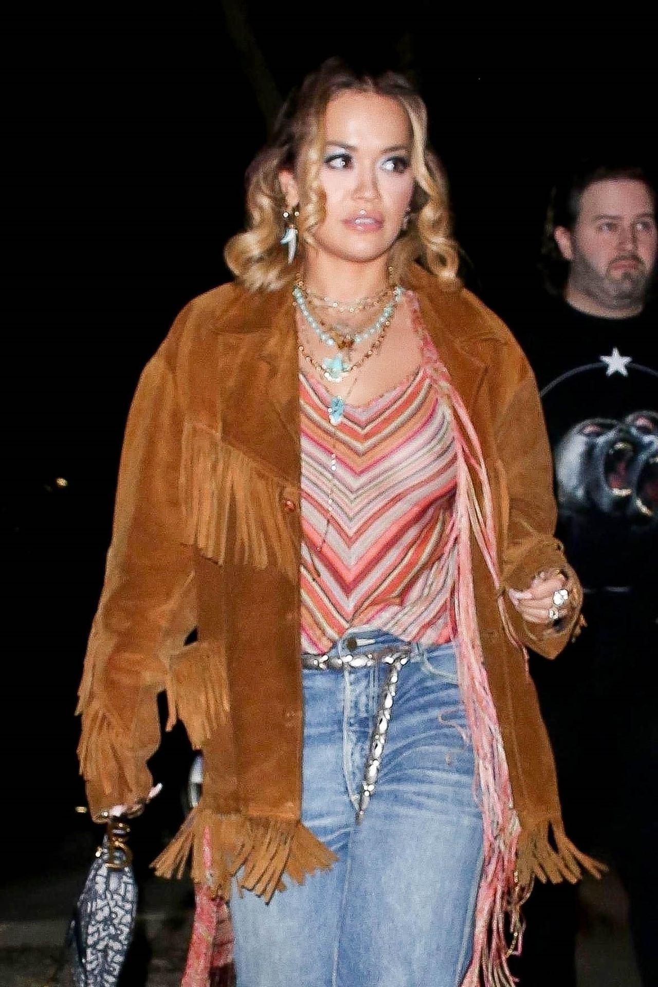 Braless Rita Ora Steps Out With Friends In Los Feliz 0002