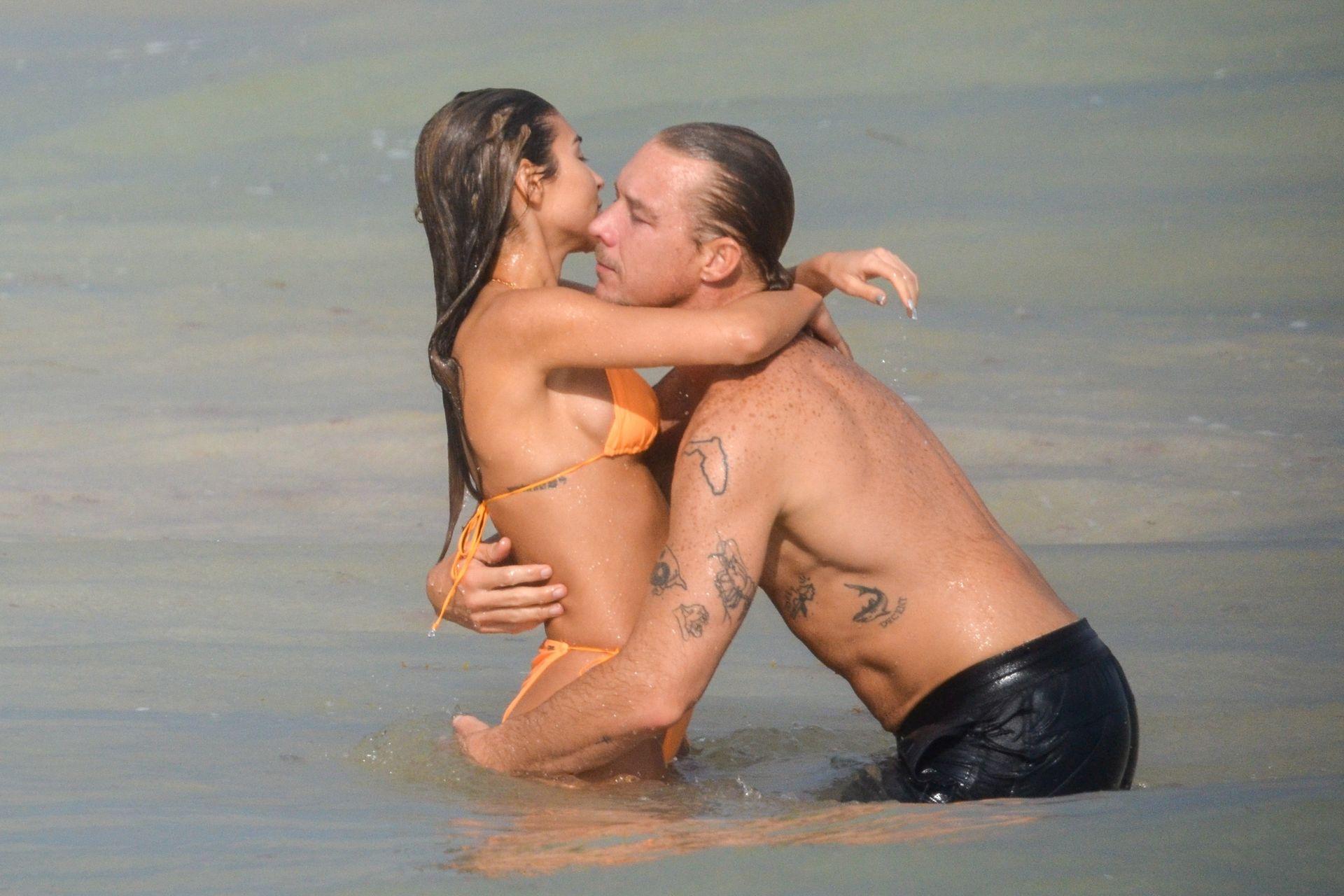 Chantel Jeffries And Dj Diplo Take Their New Love To Mexico 0004