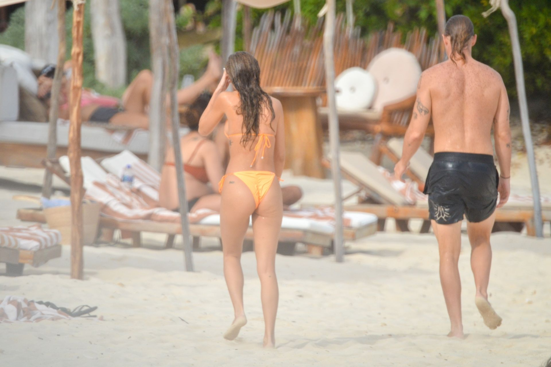 Chantel Jeffries And Dj Diplo Take Their New Love To Mexico 0028
