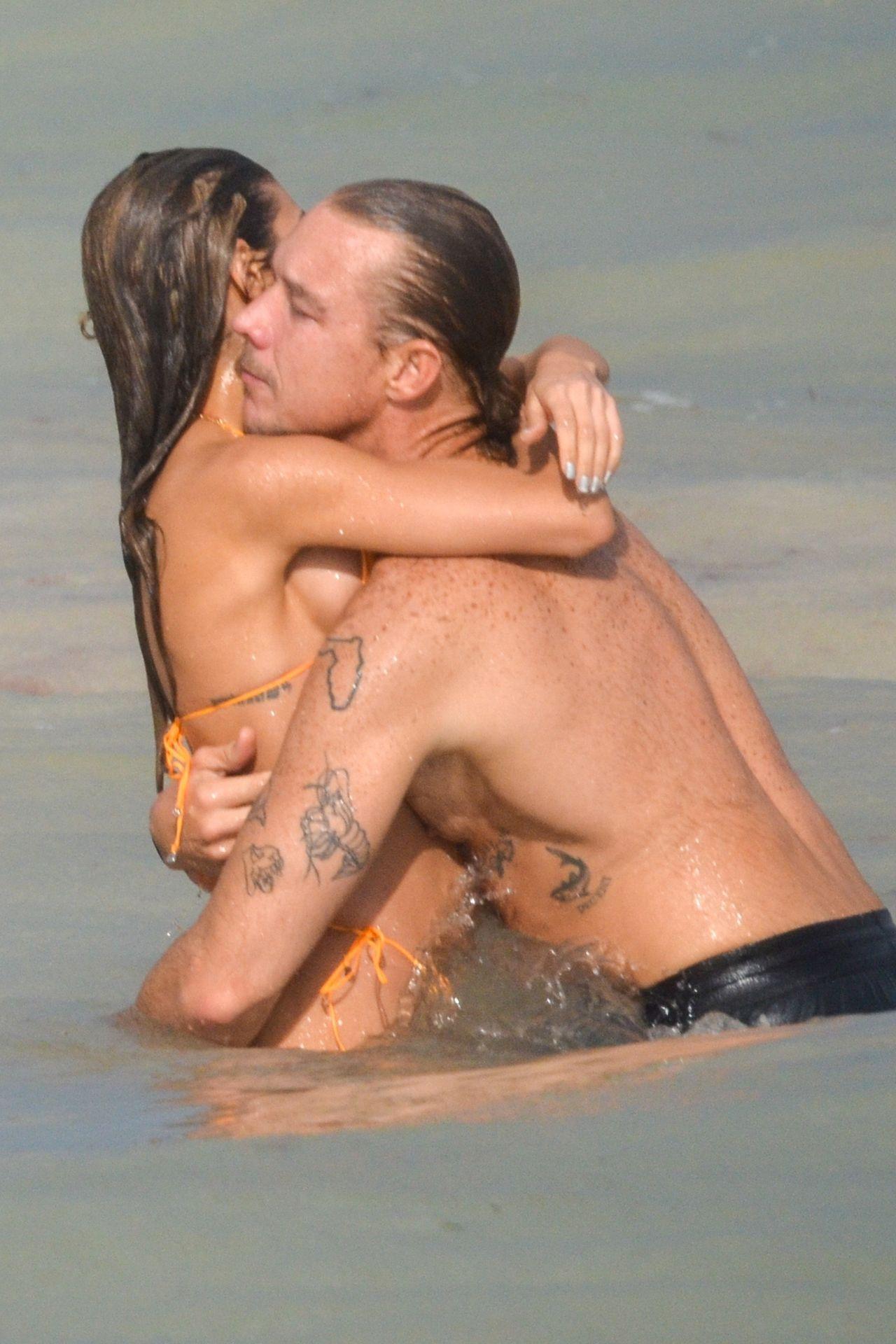 Chantel Jeffries And Dj Diplo Take Their New Love To Mexico 0033