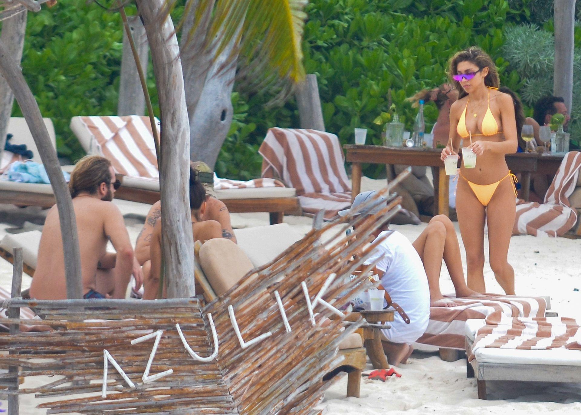 Chantel Jeffries And Dj Diplo Take Their New Love To Mexico 0039