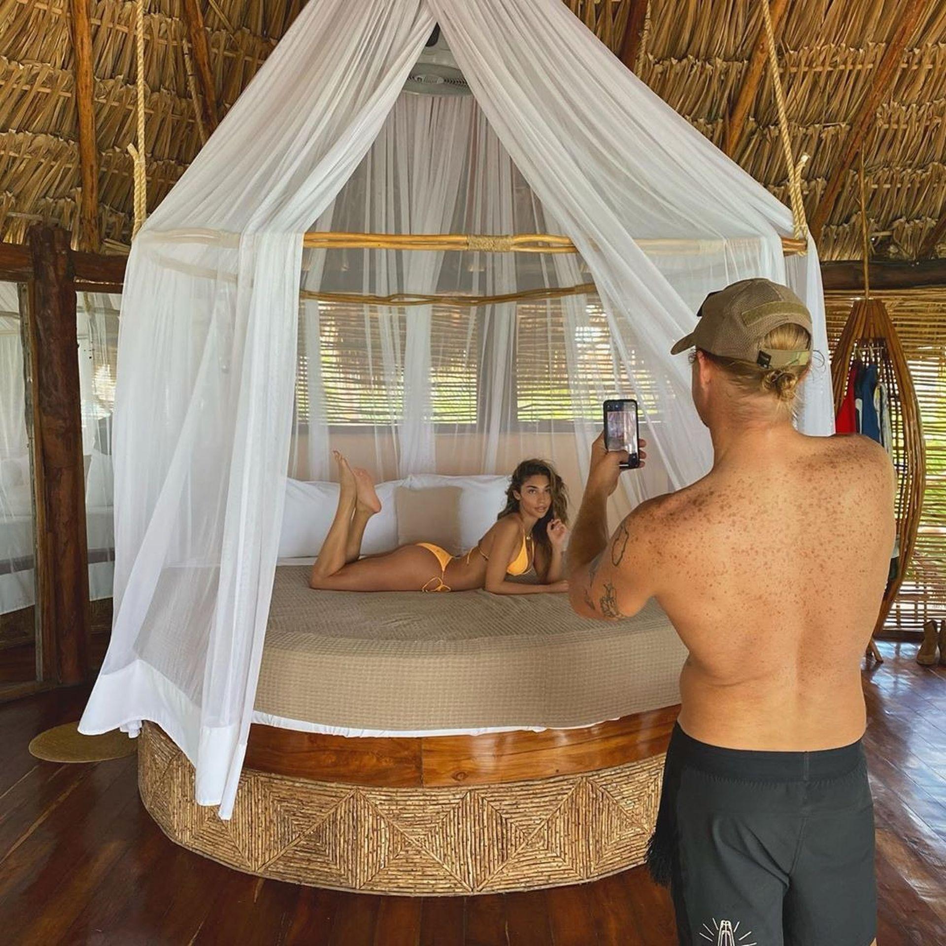 Chantel Jeffries And Dj Diplo Take Their New Love To Mexico 0042